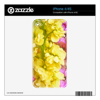 Beautiful Flowers iPhone 4 Decal