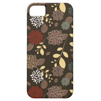 Beautiful flowers leaves branches iPhone SE/5/5s case