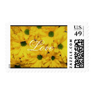 Beautiful Flowers Love 2med Postage Stamps