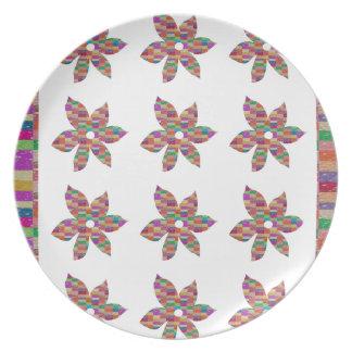 Beautiful FLOWERS : LOWPRICE Greetings n BLESSINGS Melamine Plate