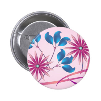 Beautiful Flowers Pinback Buttons