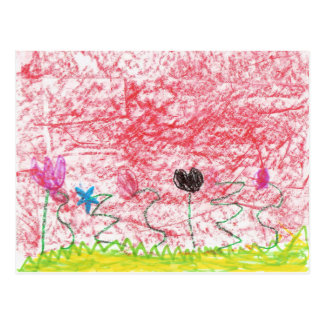 Beautiful Flowers Postcards