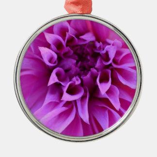 Beautiful Flowers Pretty Purple Flower Gifts Metal Ornament