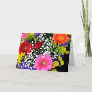 Thinking of you cards zazzle beautiful flowers thinking of you greeting card m4hsunfo