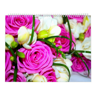 Beautiful Flowers Two Page Calendar