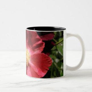 Beautiful flowers Two-Tone coffee mug