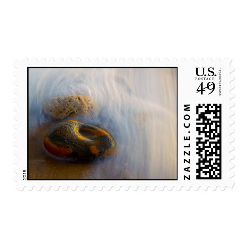 Beautiful Flowing Water Postage Stamp