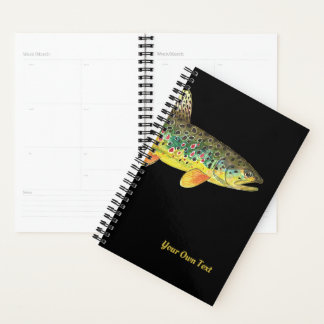 Beautiful Fly Fishing Journal Planner