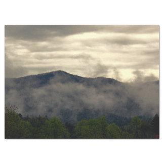 "Beautiful Foggy Mountain Landscape Photo 17"" X 23"" Tissue Paper"