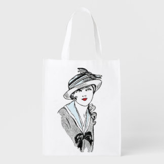 Beautiful foldaway vintage lady bag