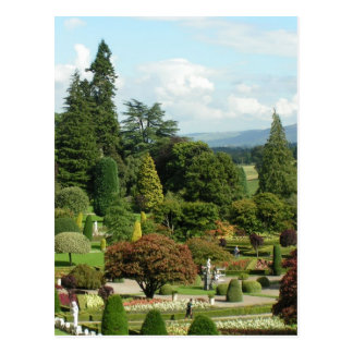 Beautiful formal gardens Drummond Castle Post Cards
