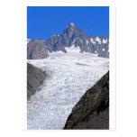 Beautiful Fox Glacier New Zealand Postcard