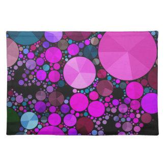 Beautiful Fractal Art Placemats Cloth Placemat