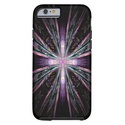 Beautiful fractal cross iPhone 6 case