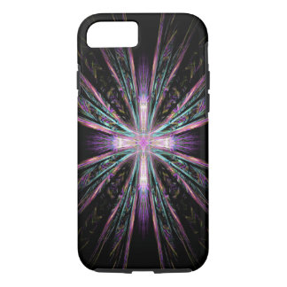 Beautiful fractal cross iPhone 7 case