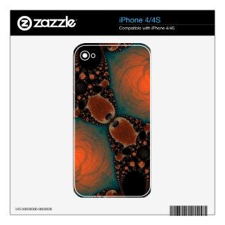 Beautiful Fractal iPhone 4 Skins