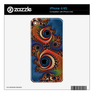 Beautiful Fractal iPhone 4S Decals