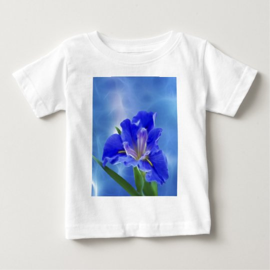 Beautiful fractal iris and its meaning baby T-Shirt