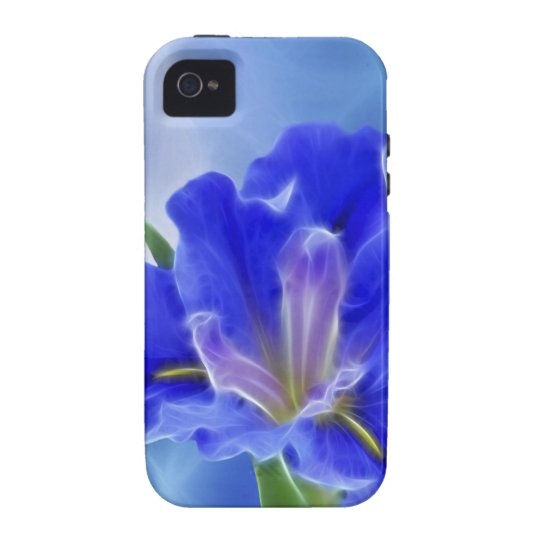 Beautiful fractal iris and its meaning Case-Mate iPhone 4 case