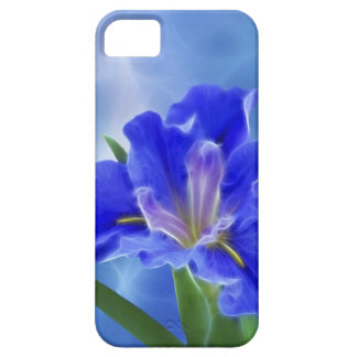 Beautiful fractal iris and its meaning iPhone SE/5/5s case