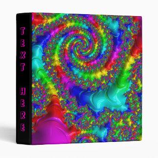 Beautiful Fractal Pattern Vinyl Binders