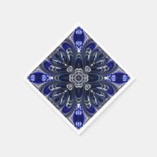 Beautiful Fractal Pattern Standard Cocktail Napkin