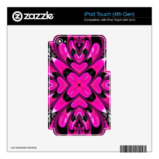 Beautiful Fractal Pattern Skins For iPod Touch 4G