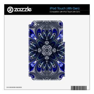 Beautiful Fractal Pattern iPod Touch 4G Skins