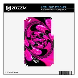 Beautiful Fractal Pattern iPod Touch 4G Skin