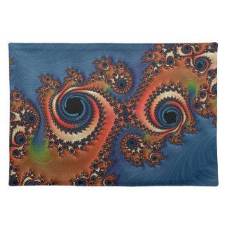 Beautiful Fractal Cloth Placemat