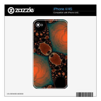 Beautiful Fractal Decals For The iPhone 4