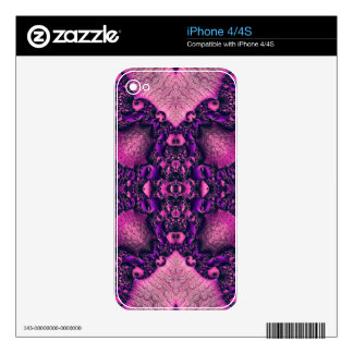 Beautiful Fractal Skins For iPhone 4