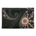 Beautiful Fractal Swirls Art Decor Travel Accessory Bags