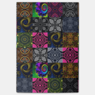 Beautiful Fractal Post-it® Notes