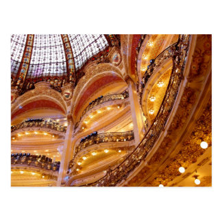 Beautiful French Building Indoor Postcards