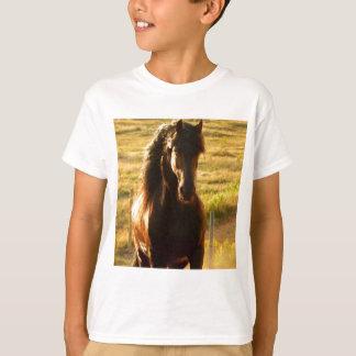 BEAUTIFUL FRIESIAN HORSE STALLION T-Shirt
