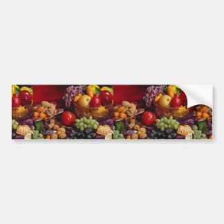 Beautiful Fruit arrangement Car Bumper Sticker