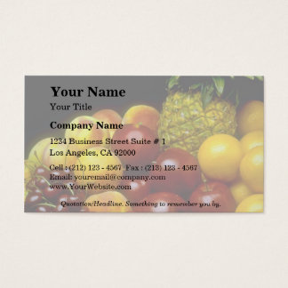 Beautiful Fruits Business Card