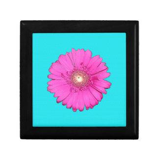 Beautiful Fuchsia Gerbera Daisy Jewelry Boxes