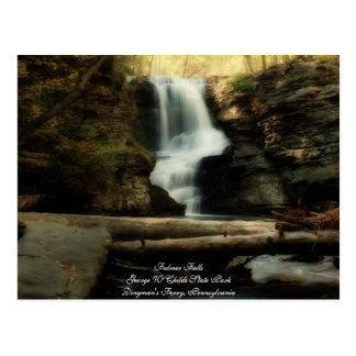 Beautiful Fulmer Falls Postcard
