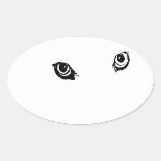 Beautiful furry Samoyed white dog Sticker