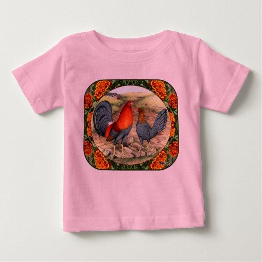 Beautiful Game Fowl Baby T-Shirt