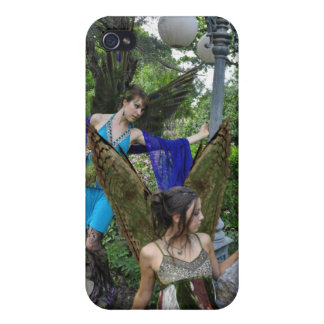 Beautiful Garden Fairies Covers For iPhone 4