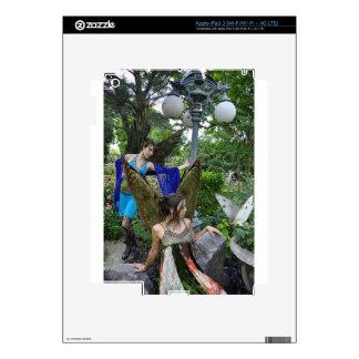 Beautiful Garden Fairies Decal For iPad 3