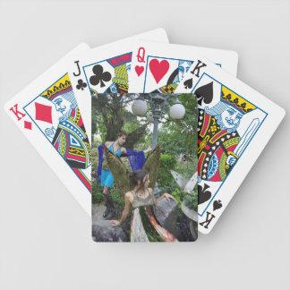 Beautiful Garden Fairies Playing Cards