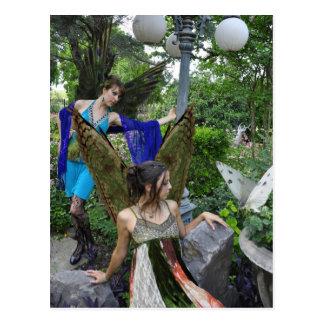 Beautiful Garden Fairies Post Card