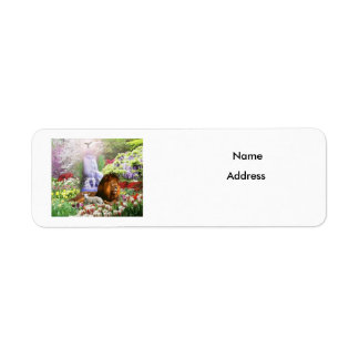 Beautiful Garden Label