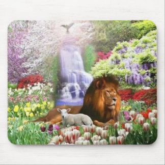 Beautiful Garden Mouse Pad