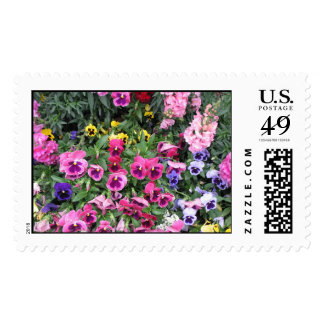 Beautiful Garden Postage Stamp