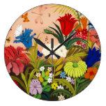 Beautiful Garden Wall Clock